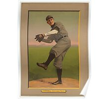 Benjamin K Edwards Collection Orval Overall Chicago Cubs baseball card portrait Poster