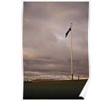 Canadian Flagpole in Commonwealth Park  Poster