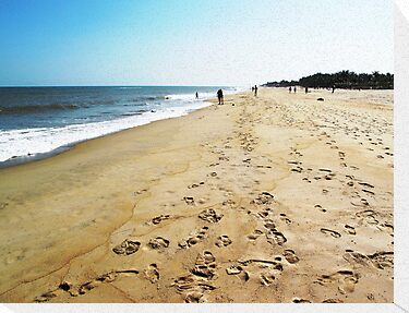 Footprints in the Sand © by Ethna Gillespie