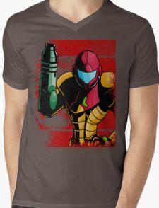 Samus Mens V-Neck T-Shirt