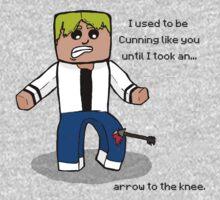 Arrow to the Knee... One Piece - Long Sleeve