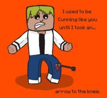 Arrow to the Knee... Kids Tee
