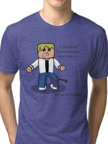 Arrow to the Knee... Tri-blend T-Shirt