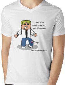 Arrow to the Knee... Mens V-Neck T-Shirt