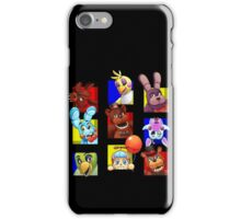 Five Nights at Freddy's Gang iPhone Case/Skin