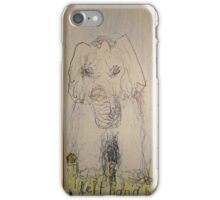 left hand drawing iPhone Case/Skin