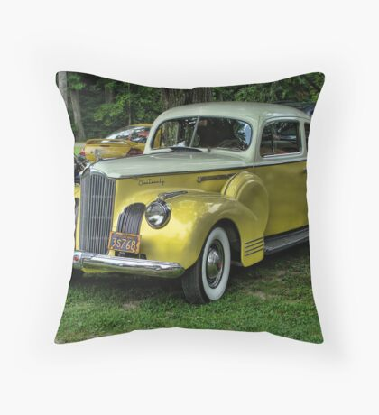 Old Chrysler Throw Pillow
