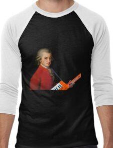 Mozart with a keytar Men's Baseball ¾ T-Shirt