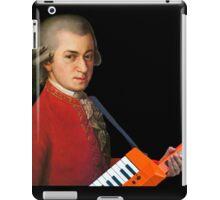 Mozart with a keytar iPad Case/Skin