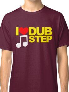 I LOVE DUBSTEP (YELLOW)  Classic T-Shirt