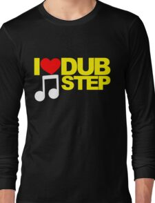 I LOVE DUBSTEP (YELLOW)  Long Sleeve T-Shirt