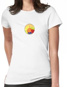 Fruit Family Portrait Womens Fitted T-Shirt