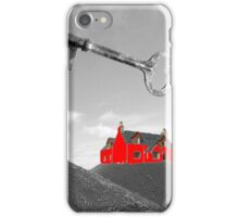 a red house over yonder iPhone Case/Skin