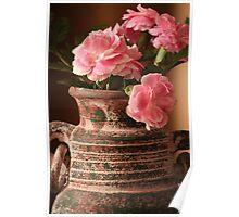 Carnation Pottery Poster