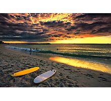 Last Glow of the Golden Sun Photographic Print
