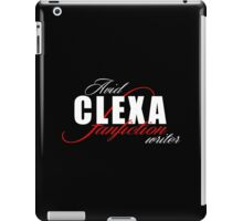The 100 - Clexa Fanfiction Writer iPad Case/Skin