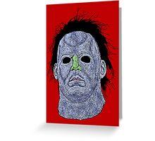 Michael Myers Halloween Greeting Card