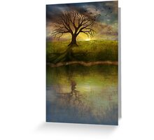 Silent Tree IV Greeting Card