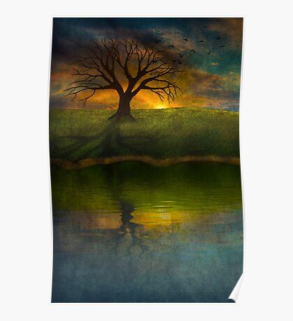 Silent Tree I Poster