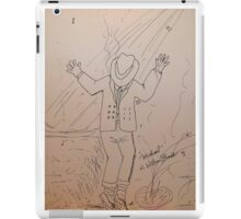 Michael -- Let The Music Play iPad Case/Skin