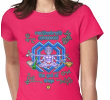 Marihashmeth Opicocacid - the god of drugs  Womens Fitted T-Shirt