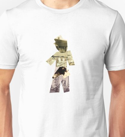 Nude Man With Hat Unisex T-Shirt