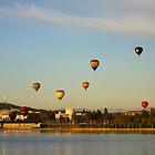 Balloon Festival by Tony Theobald