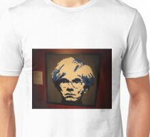 Lego Andy Warhol, Art of the Brick Exhibition, Discovery Times Square, New York City, Nathan Sawaya, Artist Unisex T-Shirt