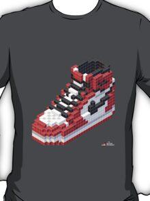 3D 8-bit Air Jordan 1 T-Shirt