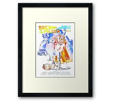 Back to the Falcon Framed Print