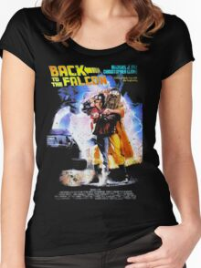 Back to the Falcon Women's Fitted Scoop T-Shirt