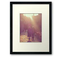 Collaboration Framed Print