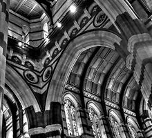 0963 Inside St Pauls Cathedral, Melbourne  by DavidsArt