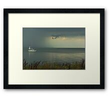 Boats - Sailing Boat Framed Print