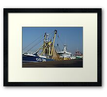 Boats - Fishing Boat Framed Print