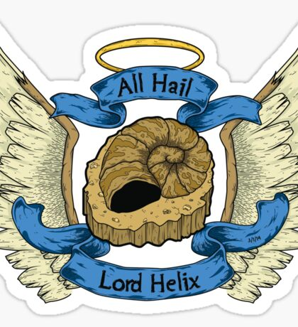 Hail Lord Helix Sticker