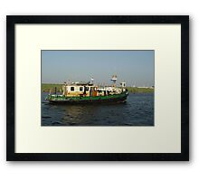 Boats - Group Fishing Boat Framed Print