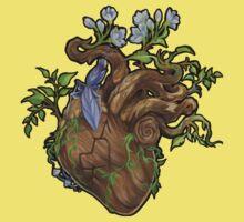 Heart - Wood Kids Tee