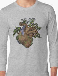 Heart - Wood Long Sleeve T-Shirt