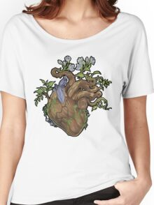 Heart - Wood Women's Relaxed Fit T-Shirt