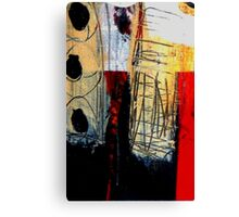 Togetherness Abstract Painting Canvas Print