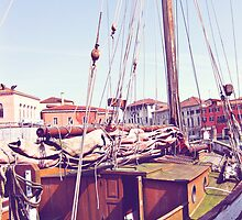 docked in venice by ahudson