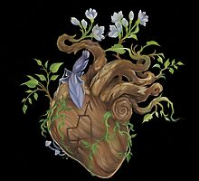 Heart - Wood by fioski