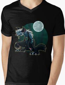 Werecat's night Mens V-Neck T-Shirt