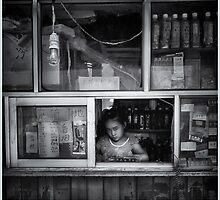 Working in Beijing by Melinda Kerr