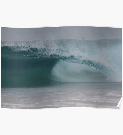 Empty Barrel Surf Poster