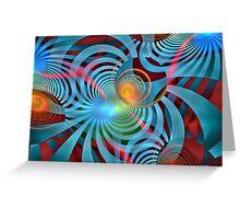 Colour Vibrato Greeting Card