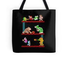 8 Bit Smash Bros. Tote Bag