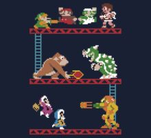 8 Bit Smash Bros. Kids Clothes