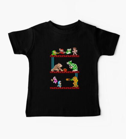 8 Bit Smash Bros. Baby Tee